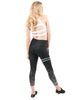 The Pescara Legging from the Love Your Body Collection - Black SM-XL!