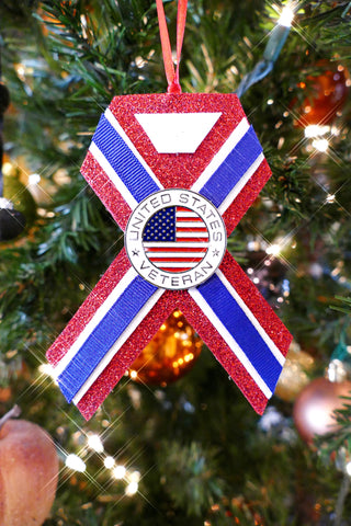 Veterans Celebration Christmas Ornament