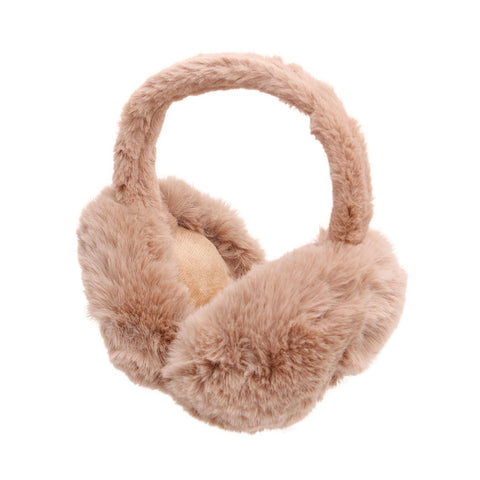 Super Soft Brown Fur Earmuffs