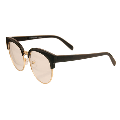 Black Vintage Wayfarer Glasses