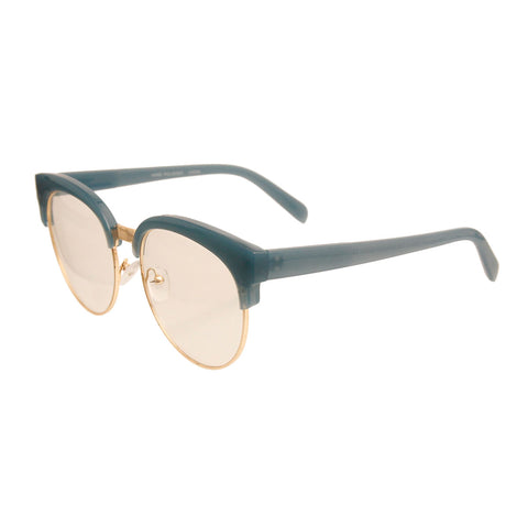 Blue Vintage Wayfarer Glasses