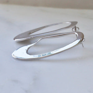 SURF SILVER EARRINGS by EMMA AITCHISON - Unearth Store