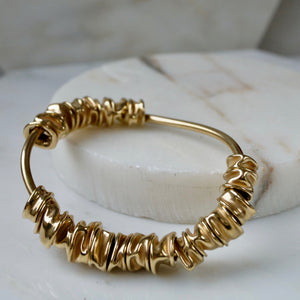 RIPPLE BANGLE by EMMA AITCHISON - Unearth Store