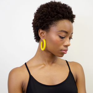 FORM HOOPS EARRINGS by MACHETE - Unearth Store