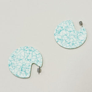 CLARE EARRINGS MINTED PORCELAIN by MACHETE - Unearth Store