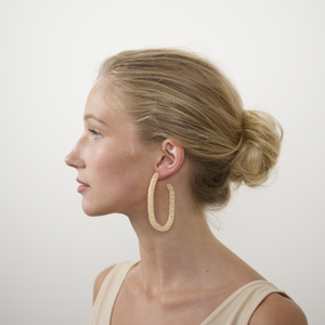 MARGOT LOW HOOP EARRINGS by MACHETE - Unearth Store