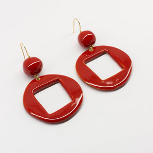CUBA STATEMENT EARRINGS by PEDRUSCO - Unearth Store