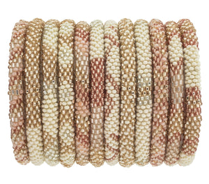 FAIR TRADE ROSE ROLL-ON BRACELET by AID THROUGH TRADE - Unearth Store