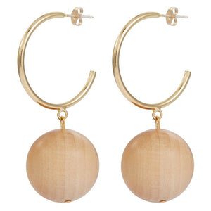 GRAVITY PINE EARRINGS by SOPHIE MONET - Unearth Store