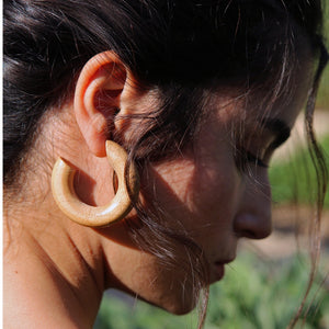 SMALL PINE HOOPS by SOPHIE MONET - Unearth Store