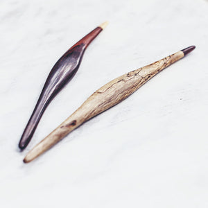 DOUBLE PANDANDS HAIR STICKS by SAYA DESIGNS - Unearth Store