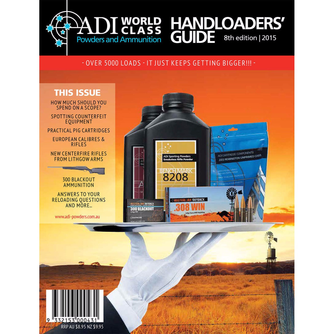 adi handloaders guide 9th edition the qstore rh q store com au