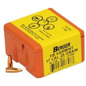 Berger 17 cal 25g Match FB Varmint 17308