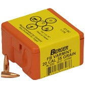 Berger 20 cal 35g Match FB 20303 Varmint
