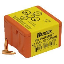 Berger 22 cal 52g Match FB 22309 Varmint