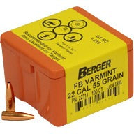 Berger 22 cal 55g Match FB 22311 Varmint