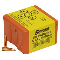 Berger 22 cal 60g Match FB 22312 Varmint