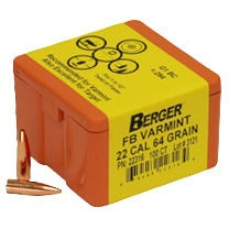 Berger 22 cal 64g Match FB 22316 Varmint