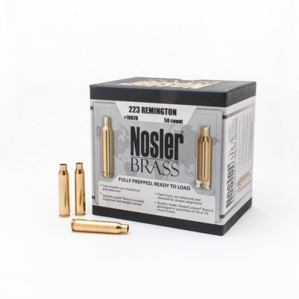Nosler Brass .223 rem - 50pc