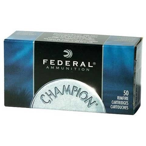 Federal Ammo 22LR 40gr HV Champion 50pk