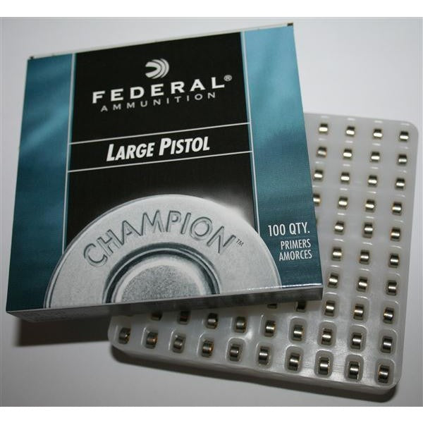 Federal 150 Large Pistol Primers 100pc