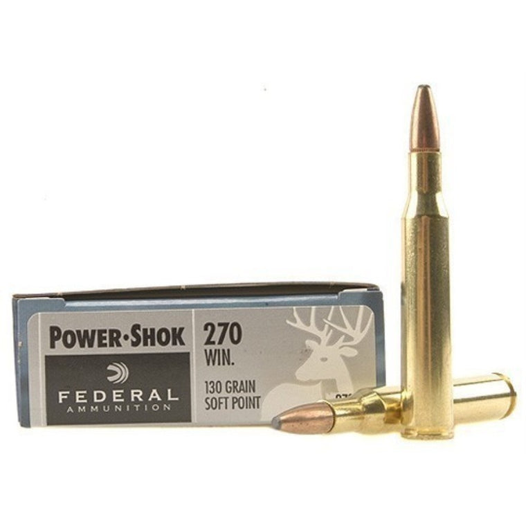 Federal Ammunition 270 Win 130gr Power-Shok