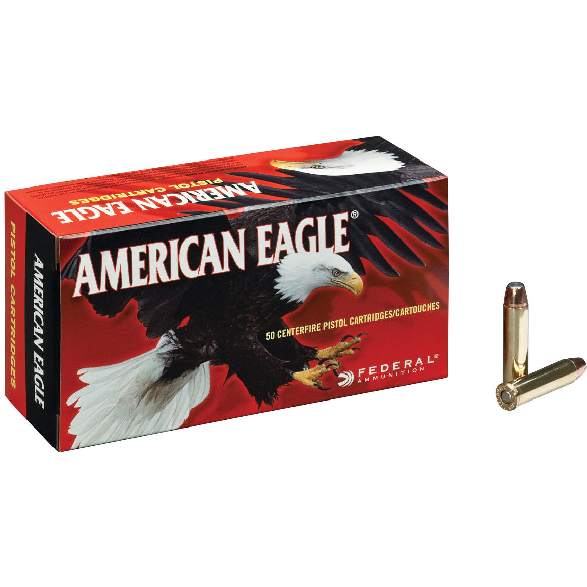 American Eagle Centerfire Pistol Cartridges - 9mm Luger 115gr FMJ