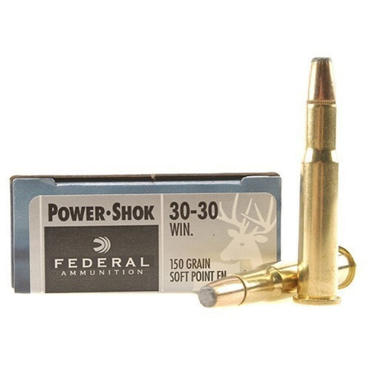 Federal Ammunition 30-30win 150gr Power-Shok