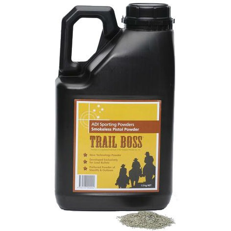 ADI Trail Boss Smokeless Pistol Powder