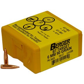 Berger 6mm 90g Match BT 24425 Target