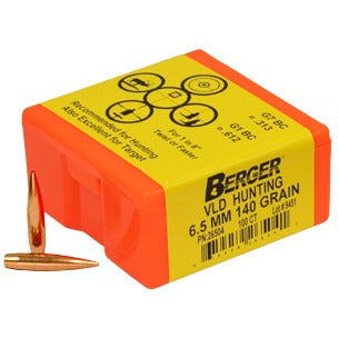 Berger 6.5mm 140g VLD 26754 Hunting x 500