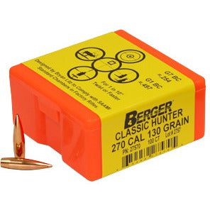 Berger 270 cal 130g Classic 27570 Hunting