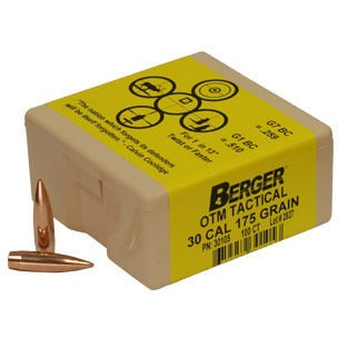 Berger 30 Cal 175gr OTM Tactical x 100 30105