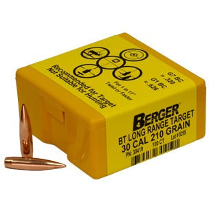 Berger 30 cal 210g Match BT Long Range 30419 Target