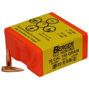 Berger 30 cal 155g Match VLD 30508 Hunting