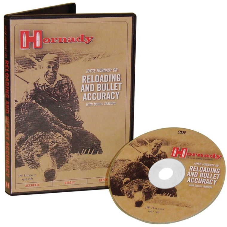 Hornady DVD - Reloading and Bullet Accuracy