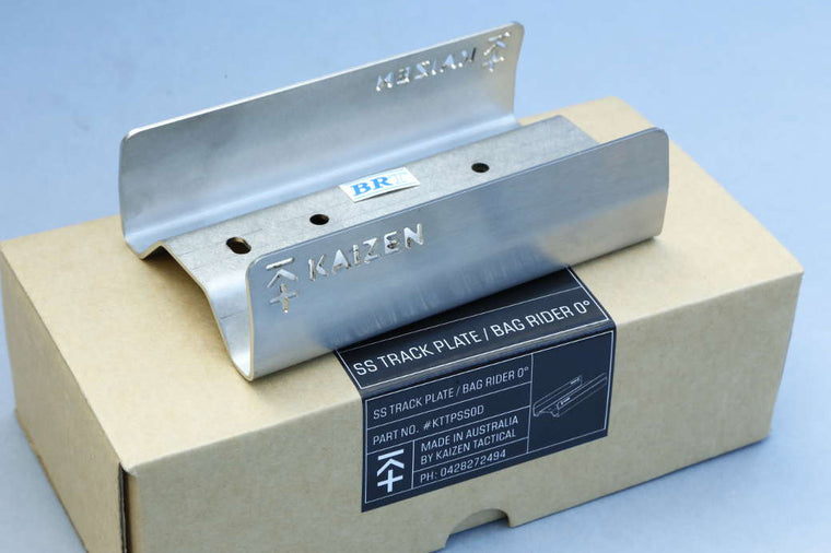 Kaizen Tactical Track Plate Stainless Steel 0 degree