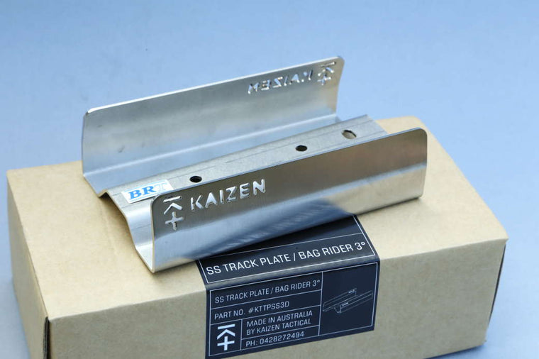 Kaizen Tactical Track Plate Stainless Steel 3 degree