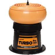 Lyman 1200 Turbo Tumbler + 2lb Media