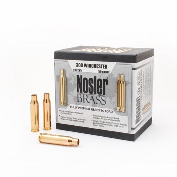 Nosler Brass 300 Win Mag - 50pc
