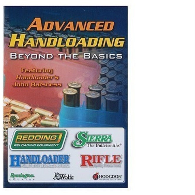 "Redding ""Beyond the Basics"" - Advanced Handloading DVD"