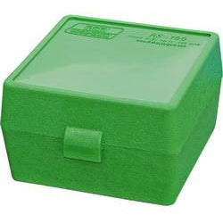 MTM 100 Round .223 Ammo Box - Green