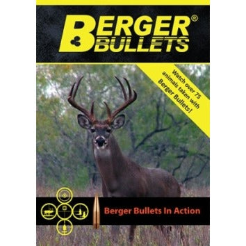 Berger Bullets In Action DVD