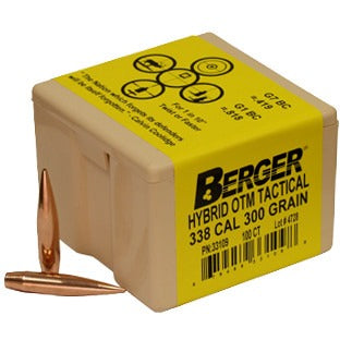 Berger 338 300g Hybrid OTM Tactical 33109