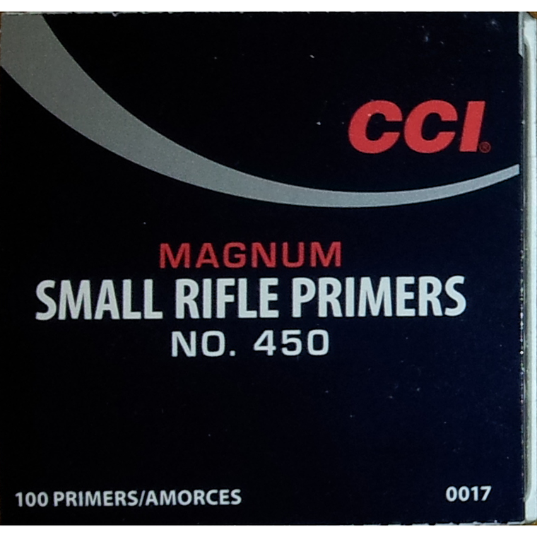 CCl Primer No.450 Small Rifle Magnum