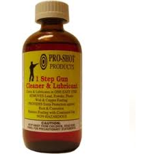 Pro-Shot 1 Step Gun Cleaner & Lubricant - 8oz