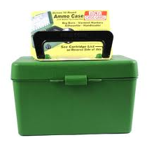 MTM 50 Round Ammo Box .223 w/Handle - Green