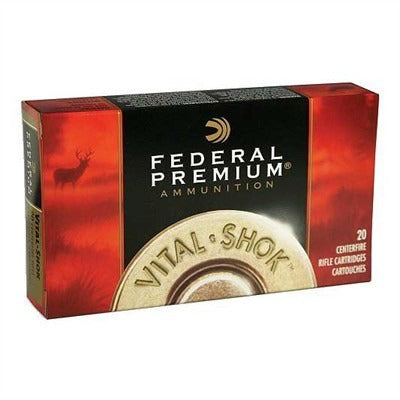 Federal Ammunition 7mm-08rem 140gr Vital-Shok