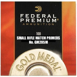 Federal GM205 Small Rifle Primer 100pc