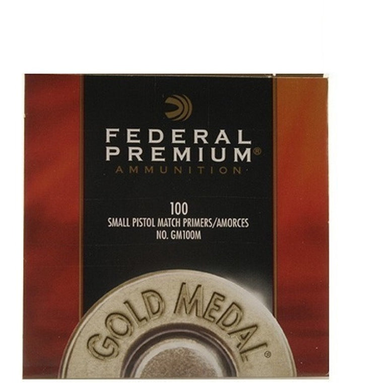 Federal GM100 Small Pistol Primers 100pc